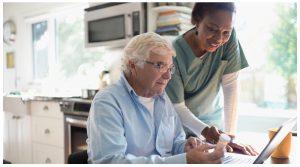 انتخاب پرستار سالمند در خانه