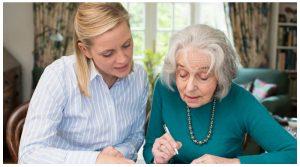 نگهداری از سالمند در خانه