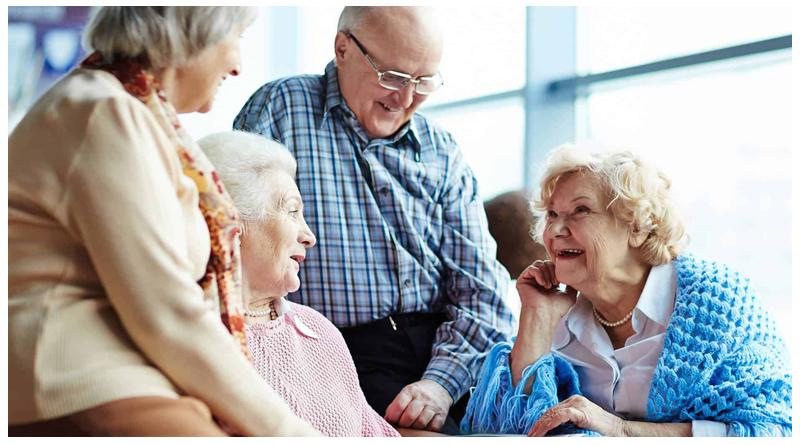 ورزش گروهی سالمندان