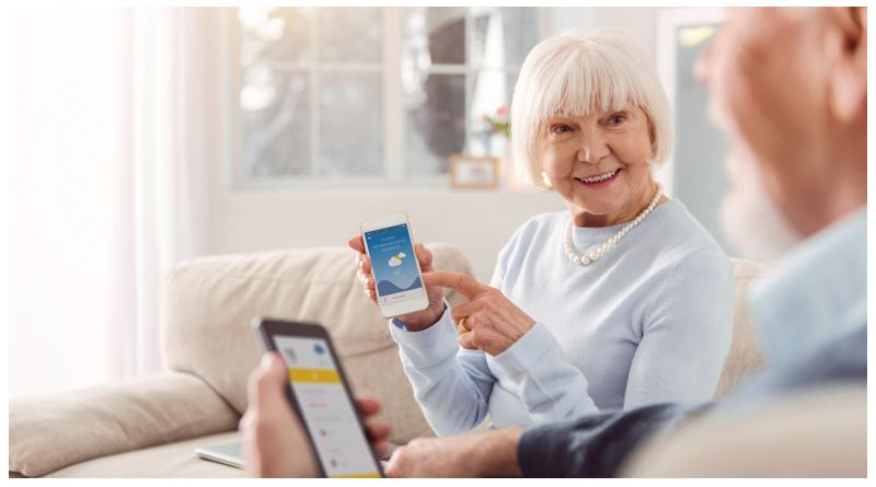 گرایش سالمندان به اینترنت