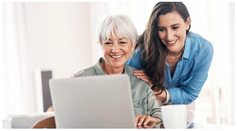 گرایش سالمندان به اینترنت و فضای مجازی