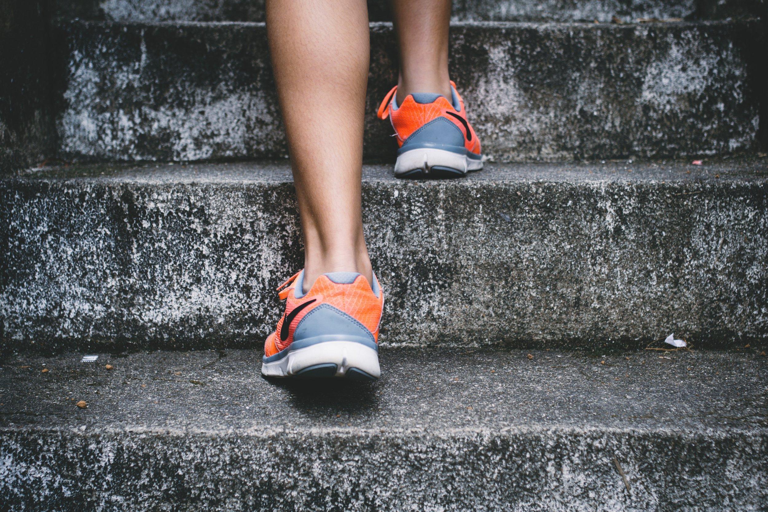 تناسب اندام با بالا رفتن از پله