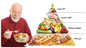 هرم غذایی سالمندان