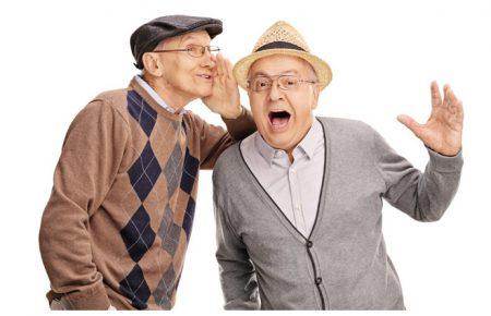 پیر گوشی در سالمندان
